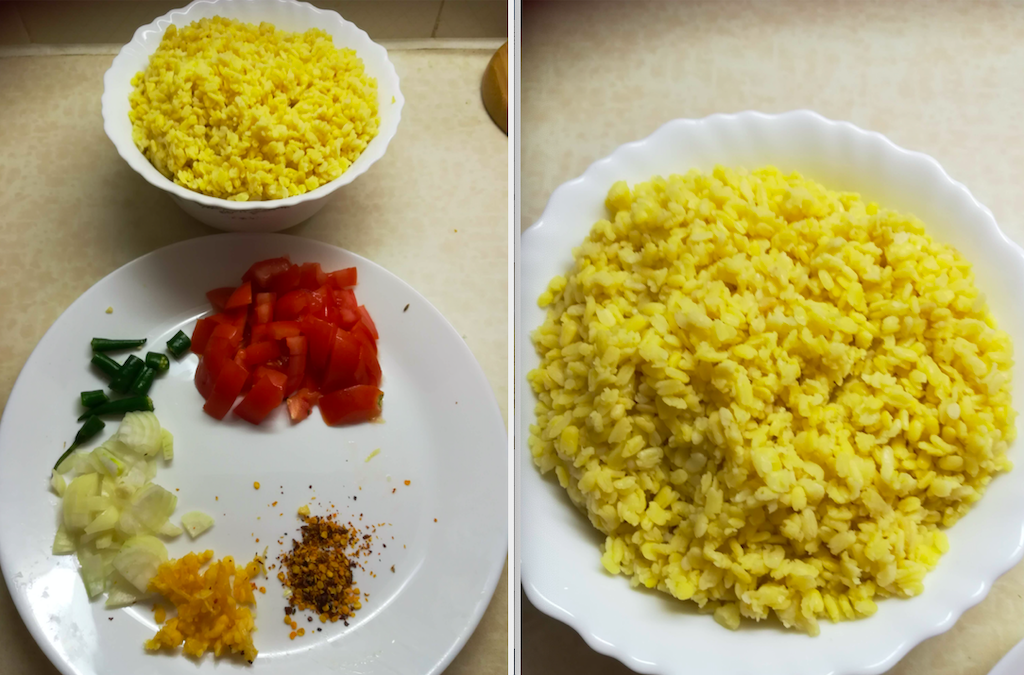 Yellow Lentils And Rice